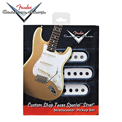 amazon com: fender custom shop pickups strat texas specials (set of 3):  musical instruments