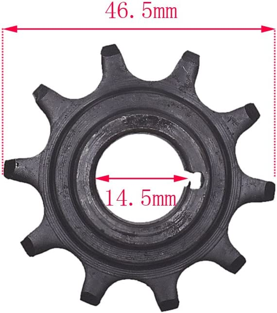 Amazon.com: Generic 10tooth Embrague Gear Drive Sprocket ...