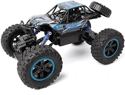Escalada de coches 4WD las cuatro ruedas del coche de RC en ...