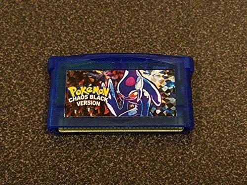 Pokemon - Chaos Black Fan Parody for Nintendo Gameboy Advance (Pokemon Fans)