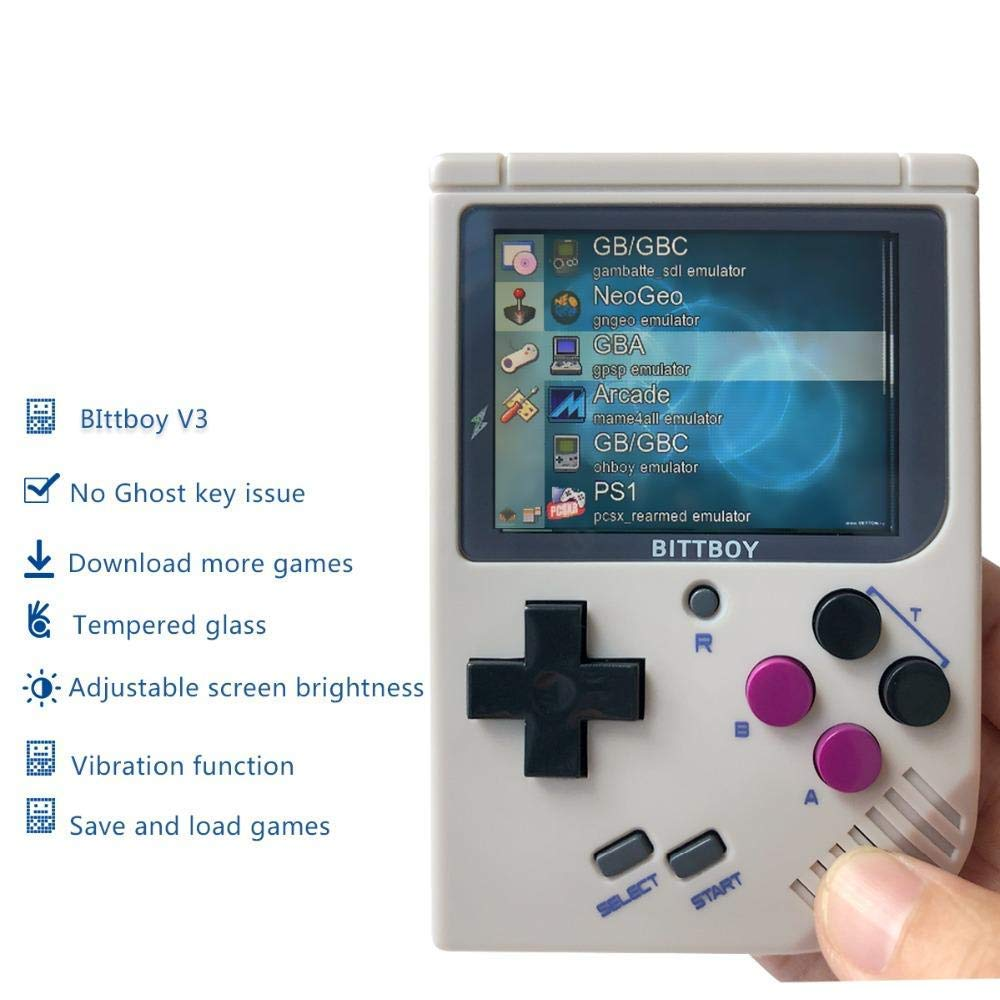 BittBoy V3, Game Console, Handheld Game Players, Console Retro,Retro Video Game
