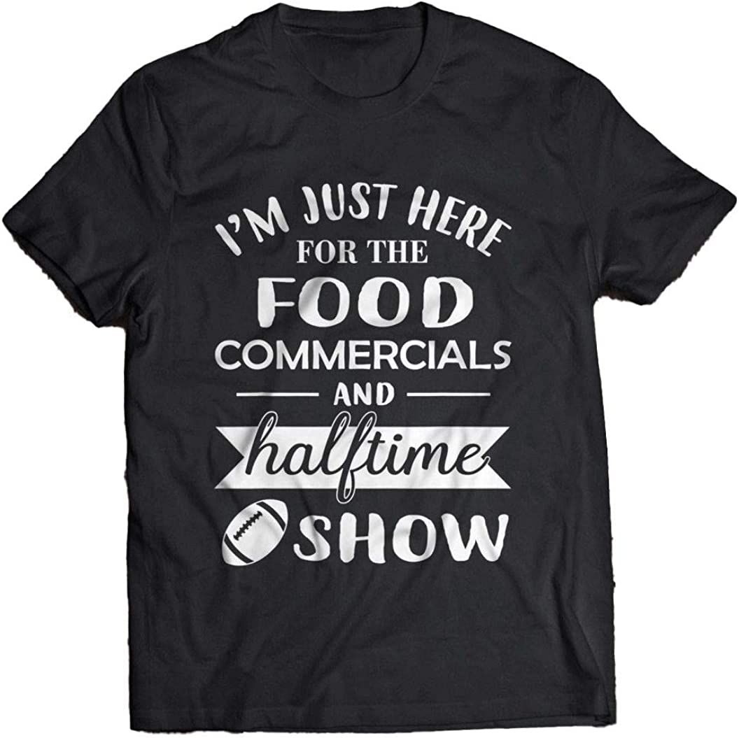 Aonani & Partner Im Just Here for The Food Commercials and Halftime Show T Shirt