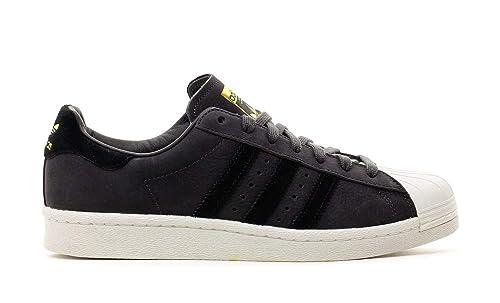 Adidas Superstar Zapatillas para Hombre Negro, 41 1/3: Amazon.es: Zapatos y complementos