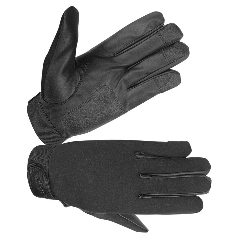 Ladies Neoprene All Weather Shooting, Pat down Police Glove (Small, Black)