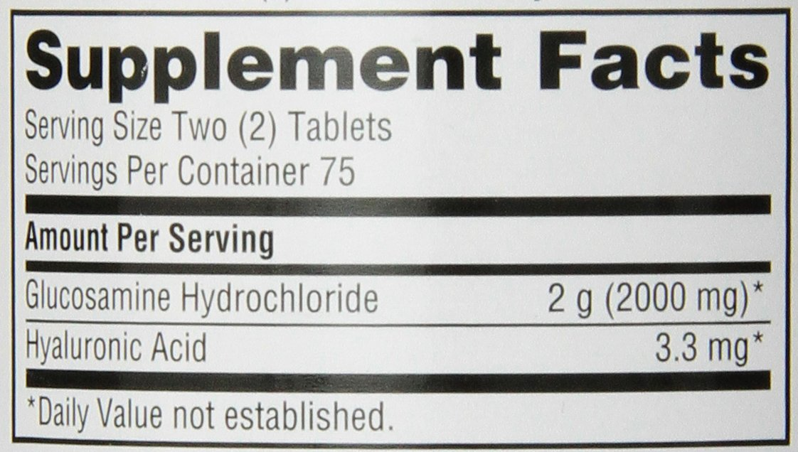 Schiff Glucosamine 2000mg with Hyaluronic Acid, 150 tablets -  Joint Supplement by Schiff (Image #2)