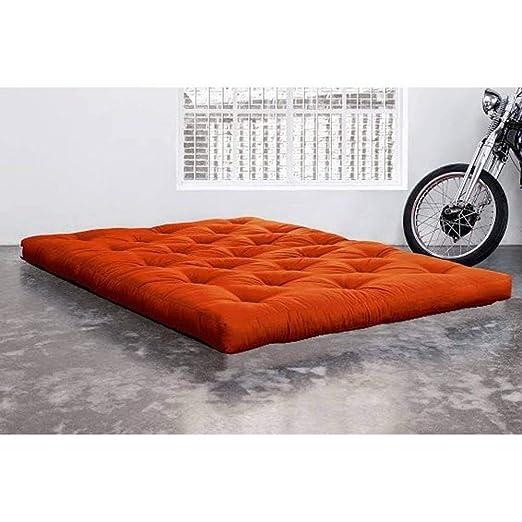 KARUP Colchón futón Doble Látex Naranja 140 * 200 * 18 cm: Amazon.es: Hogar