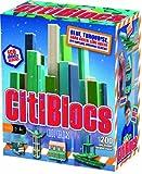 Citiblocs Cool Colors Precision Cut Building Blocks (200 Piece Cool), Baby & Kids Zone
