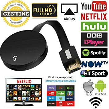 Chromecast Miracast 3nd Ultra 4K HD HDMI 1080P Digital Media Streaming Player
