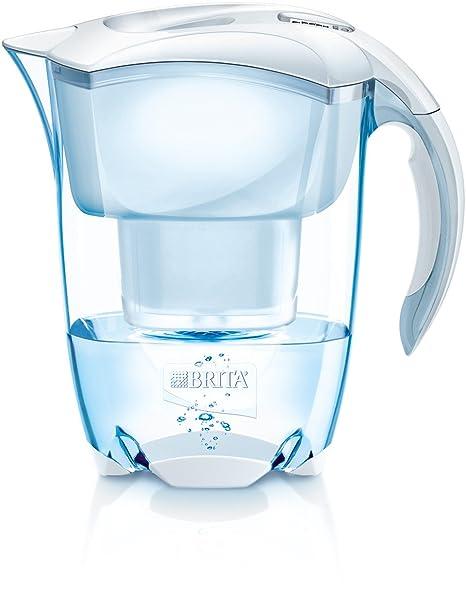 BRITA Elemaris Jarra y Filtro, Blanco, 2.4 litros: Amazon.es: Hogar