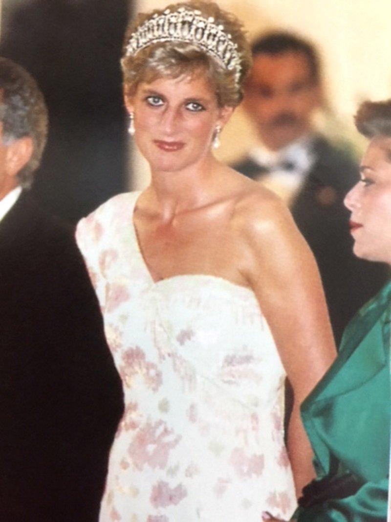 Princess Diana Cambridge Love Knot Replica Wedding Rhinestone Crystal Pearl Tiara Crown DA4 by TiaraTown