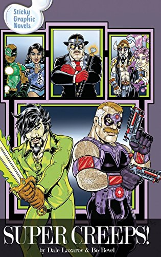 Super Creeps! by Sticky Graphic Novels