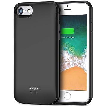 Funda Batería para iPhone 6/6S iFans 4000mAh Funda Cargador Portátil Batería Externa Carcasa Batería Recargable Power Bank para iPhone 6 / 6s - Negro