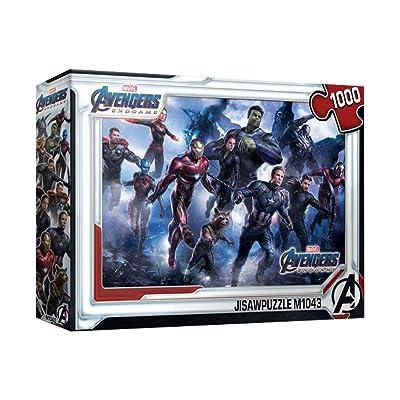 1000Piece Jigsaw Puzzle Marvel Avengers Endgame Original: Toys & Games