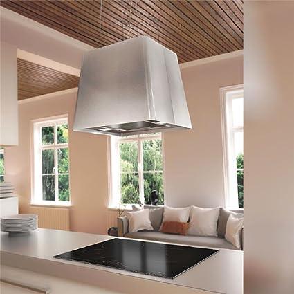 Campana Cocina Airforce de techo inoxidable Naos diámetro 45 cm: Amazon.es: Grandes electrodomésticos