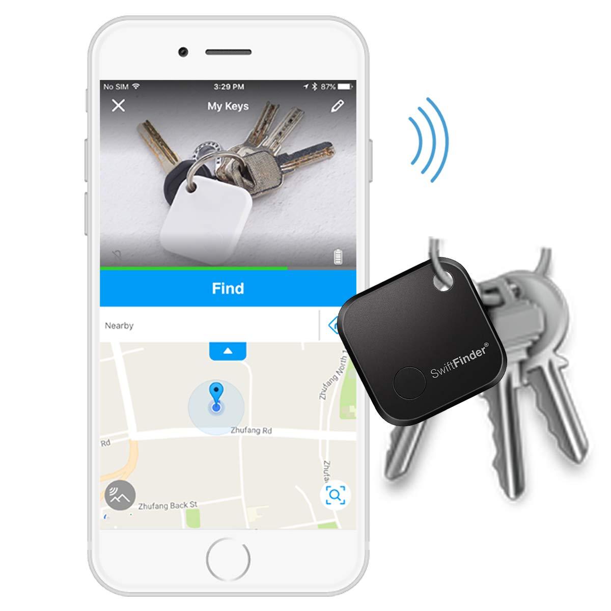 Key Finder Locator,Key Finder,Phone Finder,Bluetooth Tracker for Keys,Wallet,Bag,Smart Tag with App Control