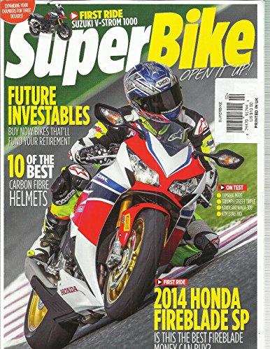 SUPER BIKE MAGAZINE, FEBRUARY, 2014 (2014 HONDA FIREBLADE SP * 10 OF THE BEST