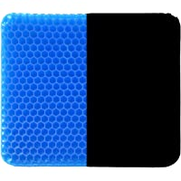 【Upgraded Large Seat Cushion & Double design】our gel seat cushion with a size: 18.11*16.93*1.38 inch, 1.35kg,Premium All…