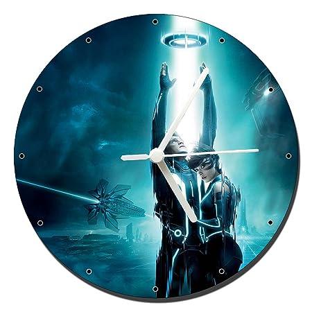 Mastazas Tron Legacy Wanduhren Wall Clock 20cm Amazonde Küche