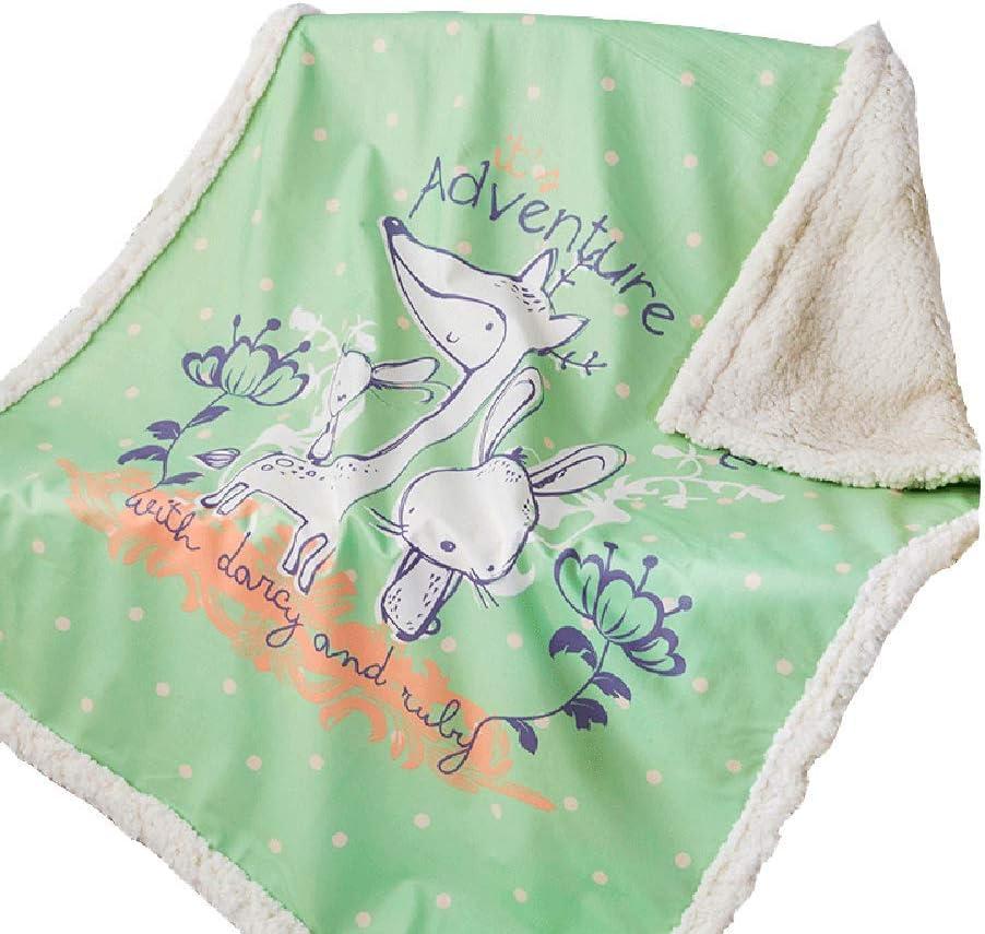 ClothHouse Manta De Moda De Dibujos Animados Manta De Cachemira Manta De Bebé Manta De Aire Acondicionado Manta Engrosada para Mascotas 75-100 Cm 100 * 140 Cm,1,75 * 100