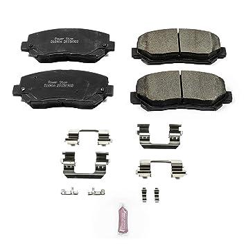 Disc Brake Pad Set-Z17 Evolution Plus Disc Brake Pad Front Power Stop 17-1697