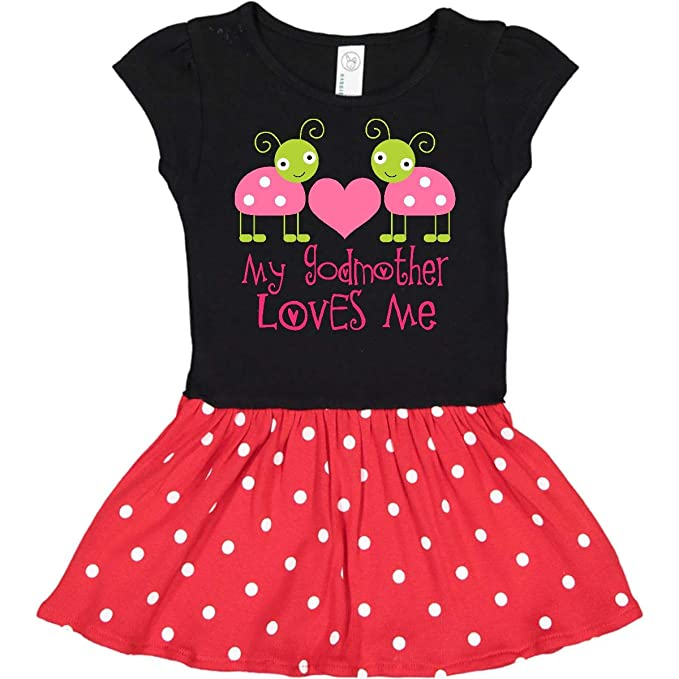 Amazon.com: inktastic madrina Loves ME Niñas Ladybug Infant ...