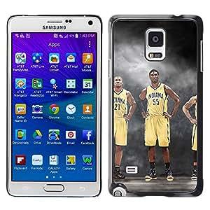 Stuss Case / Funda Carcasa protectora - 55 Indiana - Baloncesto - Samsung Galaxy Note 4