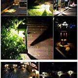 XAJGW Outdoor Post Light Fixture, LED Column Head