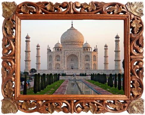 Taj Mahal Beautiful Landscape Large Wall Art Poster Print