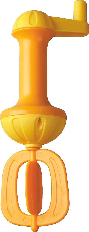 HABA 301294 - Badeschaum-Schläger, gelb | Badespielzeug für mehr Schaum in der Badewanne | Einfach bedienbarer Schaumschläger mit Kurbel zum Drehen | Badewannenspielzeug ab 3 Jahren Habermaass GmbH