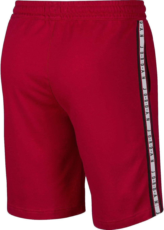 Nike Mens Air Jordan Air HBR Fleece Shorts Gym Red//Black AR2216-687 Size X-Large