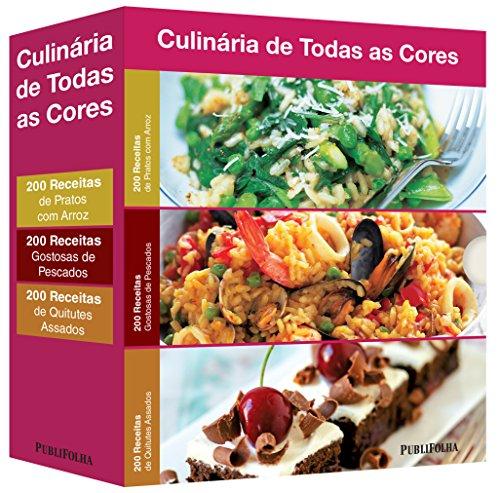 Pratos com Arroz + Gostosas de Pescados + Quitutes Assados - Caixa Culinária de Todas as Cores (Em Portuguese do Brasil)