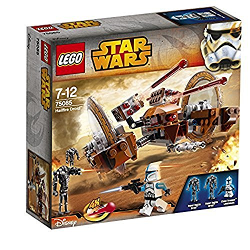 LEGO Star Wars Attack of the Clones Hailfire Droid Exclusive Set #75085 (Lego Star Wars Geonosis Sets)