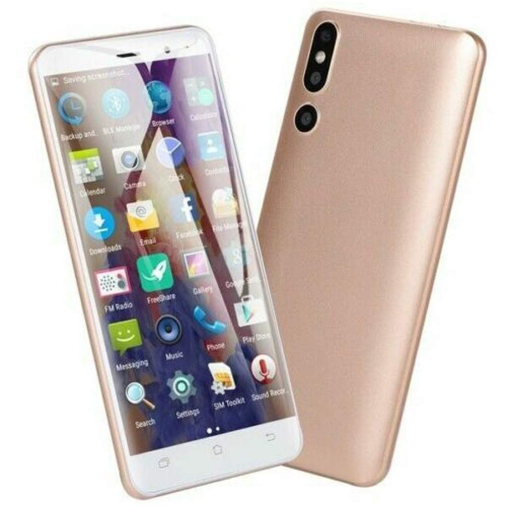 Hot Sale! NDGDA, Dual HD 5.0 inch Camera Smartphone Android 6.0 WiFi GPS 3G Call Mobile Phone (Gold) by NDGDA Smart Phone