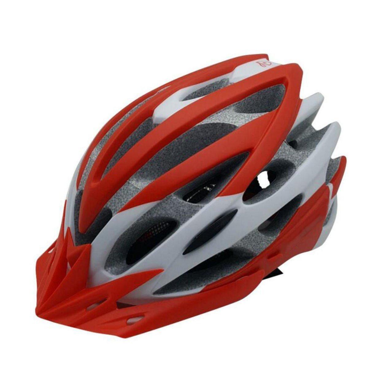 TERMV Fahrradhelm Abnehmbare Krempe Ultraleicht Erwachsenen Helm Schutzausrüstung,G