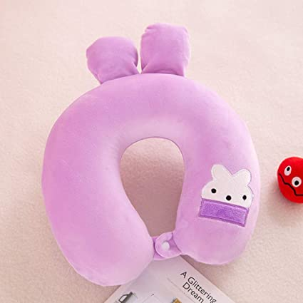 YIWAN Travel Pillow Cartoon U shaped