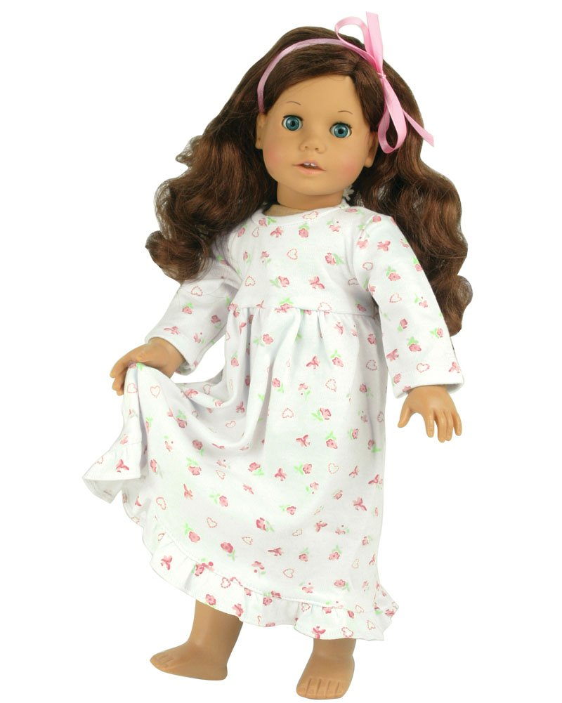 18 Inch Dolls Night Gown