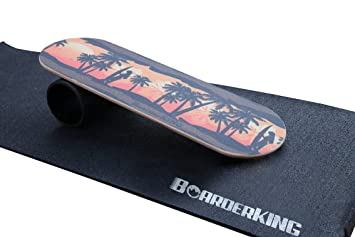 BoarderKING Tabla de Surf Hawaii Trickboard Balance - Surf en la Sala de Estar: Amazon.es: Deportes y aire libre