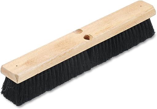 Boardwalk 20218 Floor Brush Head 2 1//2 Black Tampico Fiber 18