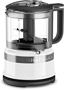 KitchenAid KFC3516WH 3.5 Cup Food Chopper, White