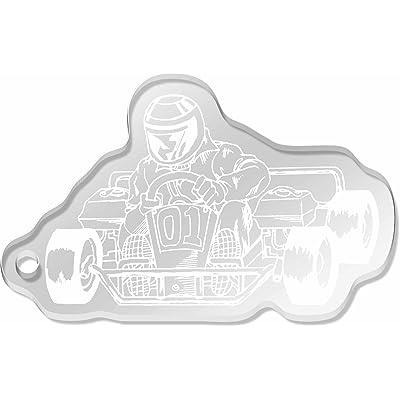 Azeeda 'Karting' grand porte-clés (AK00018424)