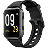 "SoundPEATS Smart Watch Fitness Tracker with All Day Heart Rate Monitor Sleep Quality Tracker IP68 Waterproof 1.4"" Large…"