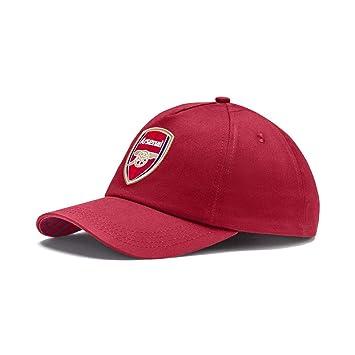PUMA 2018 19 Arsenal Training Cap - Pomegranate-Peacoat - One size ... 8e2bb5abe367