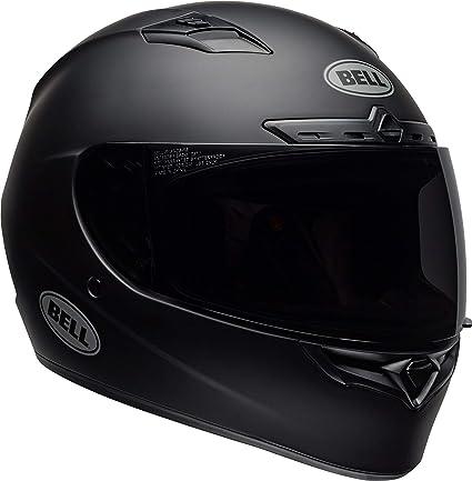 Bell Motorcycle Helmet >> Bell Qualifier Dlx Blackout Street Motorcycle Helmet Blackout Matte Black Large