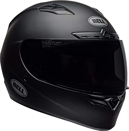Bell Motorcycle Helmet >> Bell Qualifier Dlx Blackout Street Motorcycle Helmet Blackout Matte Black Large