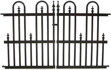 Garden Fence With Gate Frontyard Outdoorhouseplan Com