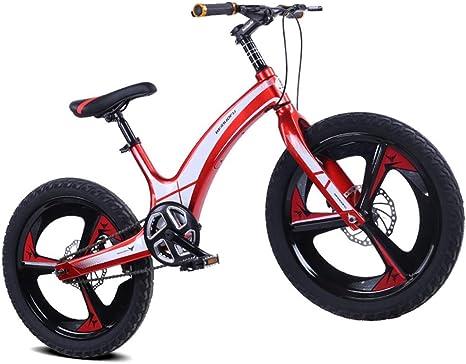 AUTOKS Bicicleta para niños Aleación de magnesio Freno de Disco de ...