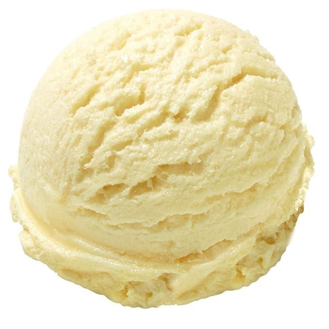 Helado blando danés con helado suave sabor vainilla Gino Gelati 1: 3-1 kg