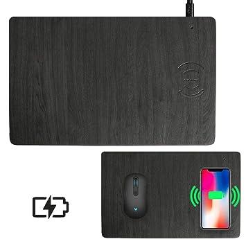Amazon.com: JCREN - Ratón inalámbrico de carga rápida para ...
