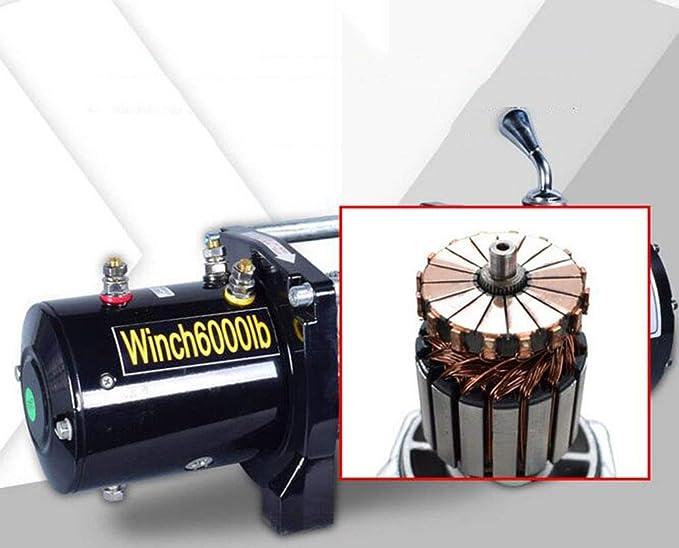 BTHDPP Cabrestante Electrico 12v Winch 6000 Lbs(2272Kg ...