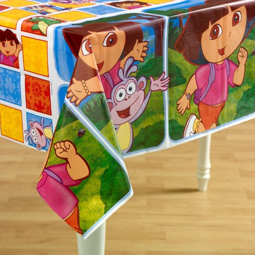 Designware Dora the Explorer Table Cover (Dora The Explorer Costumes)